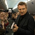 There He Goes Again: Neeson stomps, Neeson-style, in <i>Non-Stop</i>