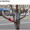 Photo: Yarn Bombing Hits the Loop