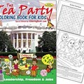 Tea Party Coloring Book Selling Like Hot Cakes