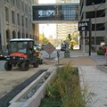 Downtown St. Louis Gets Rain Garden, More Headed to South Grand Next Year