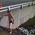 VIDEO: Daredevil Swimming in River Des Peres Seen By EPA as Justification for Cleanup