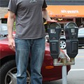 University City Parking Meters Get Whacked