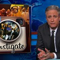 Jon Stewart Mocks Fox News Outrage Over Ferguson, Reaction to Rams Players