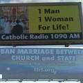 Billboard Wars: Secularists Hit Back at Anti-Gay-Marriage Message from Catholics