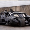 Batman's Tumbler and Batpod Park at Busch Stadium This Wednesday