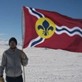 Washington University Physicists Fly The St. Louis Flag...In Antarctica (VIDEO)