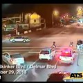 Red-Light Cameras Catch Shooting, Car Crash in the Delmar Loop; Suspect Flees in Stolen Car