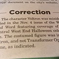 Newspaper to Readers: Sorry We Mistook Voltron for Optimus Prime