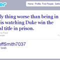 Jeff Smith's Latest Prison Tweet: Duke Championship Worsens His Sentence