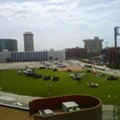 Latest Use for Ballpark Village: Military Staging Ground