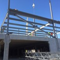 """[PHOTOS] IKEA Begins """"Steel Erection,"""" Lays Pipe for New St. Louis Store"""