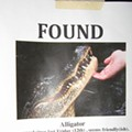 """Alligator Found"" Sign Seems Awesome, Until You Call & Realize You've Been Had"