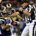 Ref Tackles Rams Player Kenneth Darby, But Few Saw it Because of TV Blackout