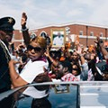 Hundreds Join Michael Brown's Parents in March to Ferguson Police Station (PHOTOS)