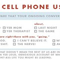 Speaking of Cell Phones, Did You Know July is Cell Phone Courtesy Month?