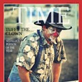 Rodeo Clown with Obama Mask at State Fair Could Win Sedalia 2013 Person of the Year