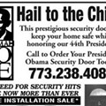 Protect Yourself From Teabaggers, Get An Obama Security Door!