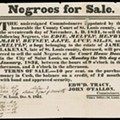 St. Louis to Host First Slave Auction in 150 Years; Bidders Get Chance to Split Up Family