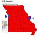 Voting Maps Show Political Divide in Missouri; St. Louis and Kansas City vs. Everyone Else