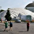 St. Louis Science Center Deflates Exploradome To Make Way For Expansion (VIDEO)