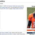 Rams Defense Hits Bronco Emmanuel Sanders So Hard Wikipedia Declares Him Dead