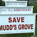 An Edgy Sign for Staid Kirkwood?