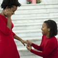 [PHOTOS] Women Who Met as Ferguson Protesters Marry at St. Louis City Hall