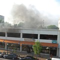 Explosion Rocks Loop Parking Garage