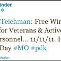 Peter Kinder: Go to Hooters for Veteran's Day!