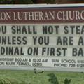 God Exempts the Cardinals
