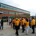 Express Scripts Workers Shout Their Way to Victory