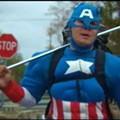Captain America En Route to Missouri Capital