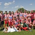 Necaxa defeats C.D. Honduras in Amateur St. Louis Soccer Championship