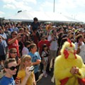 12,000 Pounds of Wings Get Prepped for Midwest Wingfest
