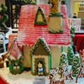 It's a Small Gingerbread World at Plaza Frontenac