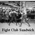 "Fight Club Sandwich: Choose the ""Battle of the Burgers"" Combatants!"