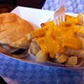 Guess Where I'm Eating A Portobello Burger and Fries and Win $25 to Flaco's Cocina [Updated]!