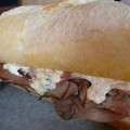 Guess Where I'm Eating this Sandwich and Win a Gift Certificate to Taqueria La Pasadita [Updated with Winner]!