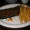 #95: Baby-Back Ribs at 17th Street Bar & Grill