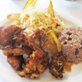 <i>Chicharron de Pollo</i> at Fritanga