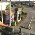 No Big Deal, Just a Tank at White Castle