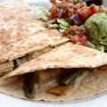 #77: Vegetable Quesadilla at Chava's