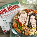 Papa John's Celebrates Royal Wedding with Most Terrifying Pizza Ever