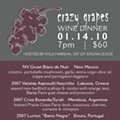 "FoodWire: ""Crazy Grapes"" Wine Dinner at Five, Thursday, 1.14"