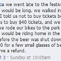 Beer Lovers Storm Out of Forest Park; Will Half-Price Ticket Quell Outrage?