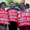 Photos/Video: Fast-Food Workers March Through Delmar Loop for Better Pay