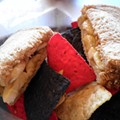 Guess Where I'm Eating This Banana Sandwich and Win a $15 Gift Certificate to Taqueria La Pasadita! [Updated With Winner!]