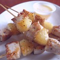Guess Where I'm Eating These Skewers and Win $25 to Joey B's on the Landing [Updated]!