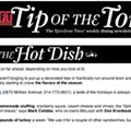 This Week's Tip of the Tongue Newsletter