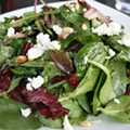Guess Where I'm Eating this Salad and Win Tickets to Raging Rivers! [Updated With <strike>a Clue</strike> Winner!]